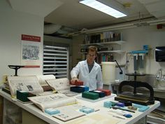 John J. Burns Library Conservation Lab (Boston College?)
