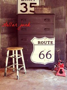 Amazing Route 66 Dresser, Milk Paint, Then Miss Mustard Seedu0027s Hemp Oil (if  Intricate Can Brush On Oil U0026 Wipe Down)