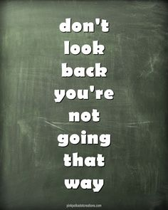 Dont Look Back - Pi