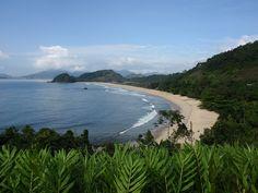 Ubatuba, Brazil I've been here, this beach exactly but I'd like to go again