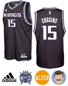 Don t miss the chance to get Men s Kings  15 DeMarcus Cousins 2016- d42d10697