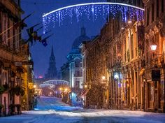 Montreal, Quebec (Pictured: Old Montreal)