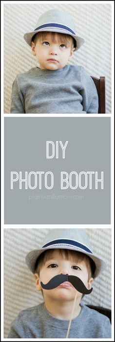 """DIY Photo Booth - Let me show you how to play a little """"photo booth"""" game with your kids and hopefully capture some great shots in the process."""