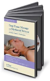Deep Tissue Technique Massage Videos: Art Riggs Video- DVD set for clinical massage myofascial release bodywork training, massage therapy education DVDs