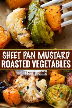 Oven Roasted Vegetables The ultimate sheet pan healthy roasted vegetables, perfectly spiced and roasted to sweet tender perfection! Great for meal prep too!The ultimate sheet pan healthy roasted vegetables, perfectly spiced and roasted to sweet tender per Side Dish Recipes, Pork Recipes, Cooking Recipes, Cooking Ham, Cooking Steak, Meatball Recipes, Recipies, Indian Food Recipes, Vegetarian Recipes