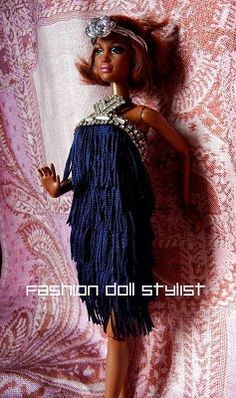 Fashion Doll Stylist: Gatsby: The Fringe Benefits Uses of fringe on doll clothes