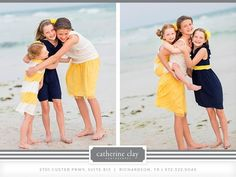 Children beach pictures, Florida, beach clothing ideas, Watercolor pictures, Seaside pictures, family beach pictures // Catherine Clay Photography