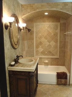 Classic travertine tile shower design ideas pictures for Bathroom remodeling houston