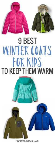 You may already be dealing with the cold winter air so here is a brief list of my top picks of winter coats for kids from my top four brands.
