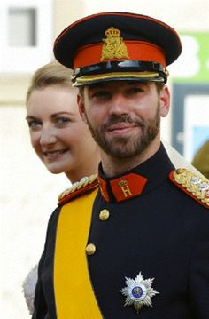 Prince Guillaume, Hereditary Grand Duke of Luxembourg and Stéphanie, Hereditary Grand Duchess of Luxembourg