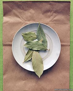 Keep tiny bugs out of your pantry - tape whole dried bay leaves to the sides & bottom of shelves.