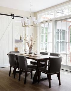 Summit Signature Homes, Inc. - transitional - Dining Room - Chicago - Summit Signature Homes, Inc. Dining Room Sets, Dining Room Design, Dining Room Chairs, Dining Room Furniture, Dinning Table, Luxury Interior Design, Interior Design Inspiration, Design Ideas, Dining Room Inspiration