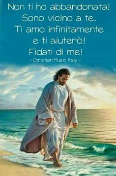 Parola de Dio...Grazie Gesù 🙏🙏🙏 Catholic Religion, Gods Not Dead, God's Heart, Beautiful Prayers, Mary And Jesus, My Big Love, Desiderata, Inspirational Phrases, Faith Hope Love