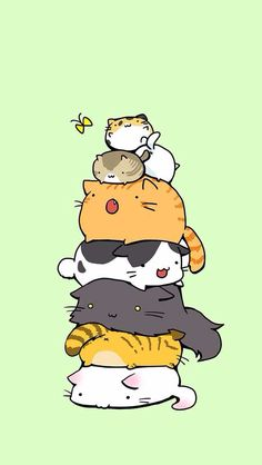 Sort of a spin off of pusheen the cat