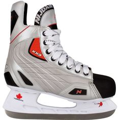 e5418d2cc2d Ice Skating Shoes Sport Activity Ice Skates Silver Black Red Hockey Boys  Size 41 #IceSkatingShoes