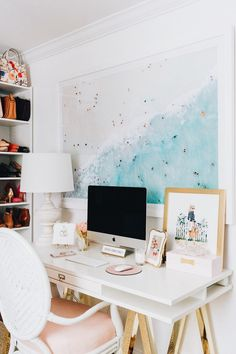 Chic work-space.