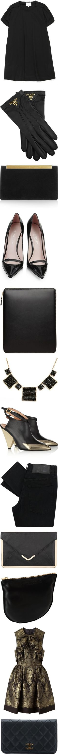 """""""Black and Gold"""" by janet9 ❤ liked on Polyvore"""