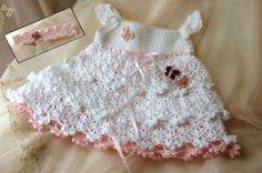 Savannah Belle Dress Crochet Pattern Sizes NB-3T mos baby toddler