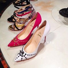 Christian Louboutin 212 872 8947 | (Don't forget the store opens at 9am this Wednesday, May 28th for the designer shoe sale in the shoe salon!)