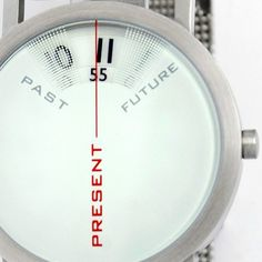 "This is awesome! I like the idea ""past-present-future"". Yanko Design Past-Present-Future Watch Aftershave, Vaporwave, Future Watch, Wooden Watches For Men, Past Present Future, Cool Watches, Men's Watches, Fashion Watches, Men's Fashion"