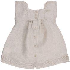 Dress - back, linen