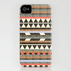 Lovin' this pattern! DG Aztec No. 1 by Dawn Gardner iPhone case $35