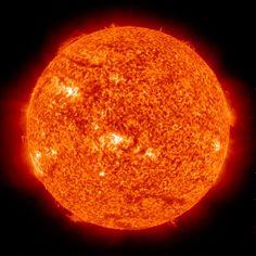 The sun burns 600 million tonnes of hydrogen a second.