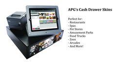 Introducing APG's New Cash Drawer Skins!