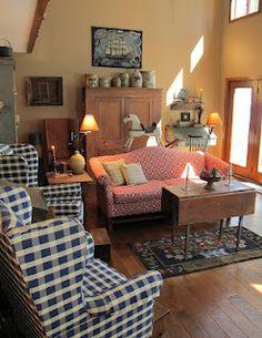 Bon Like The Furniture Arrangement   Primitive Place U0026 Country Journal Magazine
