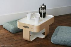 Love this! -> This is how I would like to start the day with a calm breakfast, chatting with my husband.