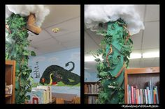 Jack and the Beanstalk --might be fun to make one.