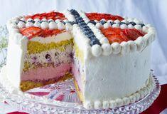 17.mai-bløtkake med bær i flaggets farger