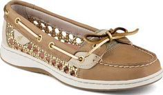 Sperry Top-Sider Angelfish Cane Woven Boat Shoe LinenOatCane, Size 7M  Women's Shoes