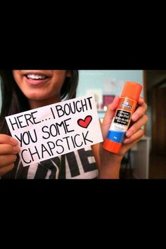 I want to give this chapstick to sooooo many people!