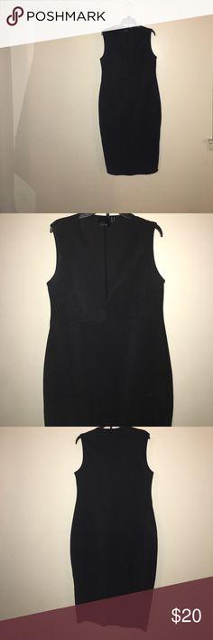 Black ASOS dress Black ASOS dress with v neck ASOS Curve Dresses