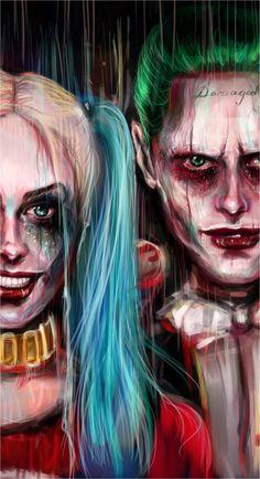 Joker And Harley Quinn Mobile Wallpapers
