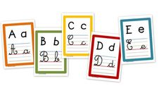 affichage alphabet Alphabet Alpha, Teacher Hacks, School Classroom, Classroom Management, Kindergarten, Homeschool, Lettering, Teaching, Activities