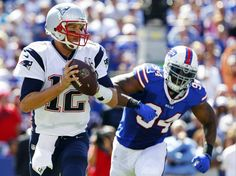 Pats trying to preserve a number of divisional streaks vs. Bills