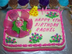 Rachel's 4th Birthday cake, Barbie