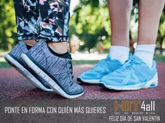 Este #SanValentín, demuestra tu amor a tu pareja regalando deporte. No os perdáis la oferta que os tenemos preparada. #entrenar #fitness #running