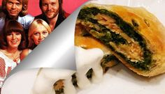 Strudel di spinaci e salmone alla Abba - Ricette Rock / Abba Strudel with Spinach and Salmon