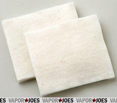 Vapor Joes - Daily Vaping Deals: WICK: ORGANIC 60 x 80MM COTTON - 120 COUNT - $5.59...