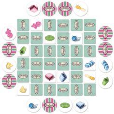 Bonbons è un gioco in stile Memory, dove lo scopo è quello di riuscire ad abbinare caramelle dello stesso colore.    Il gioco si compone di 36 tessere quadrate disposte a faccia in giù al centro del tavolo in modo da formare un quadrato 6x6. Ogni giocatore riceve 4 tessere rotonde che tiene segrete davanti a sè: nel proprio turno gira una tessera quadrata e una tessera rotonda e, se queste sono identiche, le lascia visibili e può giocare di nuovo; in caso contrario le rigira e passa il…