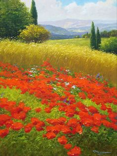 """Dreaming of Poppies"" - by Gerhard Nesvadba"