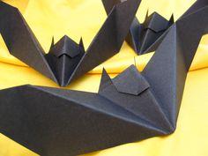 Black Bats (Set of 10) - Halloween Decorations, Party Favors. $8.00, via Etsy.