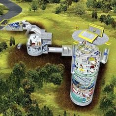 Anyone want to live in a missile silo? 2500 of main living space plus 14 floors of fun in the main silo. WOW