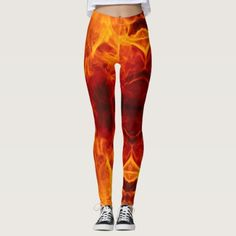 More Fire - power Yoga put-went Leggings - yoga health design namaste mind body spirit