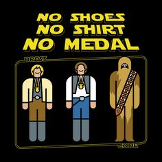 No medal for Wookiee!