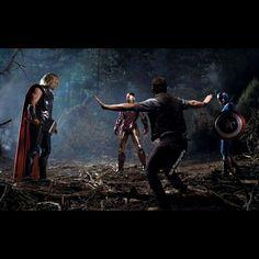 Avengers World #avengers #jurassicworld #thor #ironman #captainamerica #owengrady #marvel #jurassicpark #raptor #scene #fight #mediation #mashup #funnypictures #art #photomanipulation #bobphotography