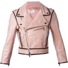 Red Valentino Cropped Biker Jacket - Yusty - Farfetch.com
